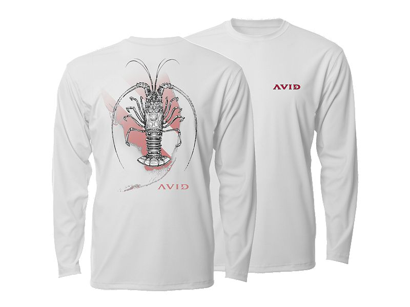 AVIDry Lobster Performance Long Sleeve Shirt