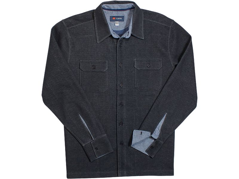 Cova Longitude Long Sleeve Buttondown Fleece