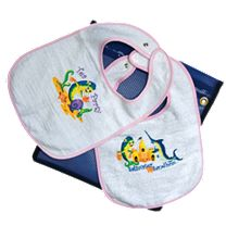 "Girls ""Saltwater Tea"" Bibs Pack"