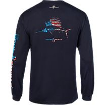Hook & Tackle American Sailfish X-Ray Solar System Long Sleeve Shirt