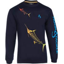 Hook & Tackle Marlinmania X-Ray Solar System Long Sleeve Shirt