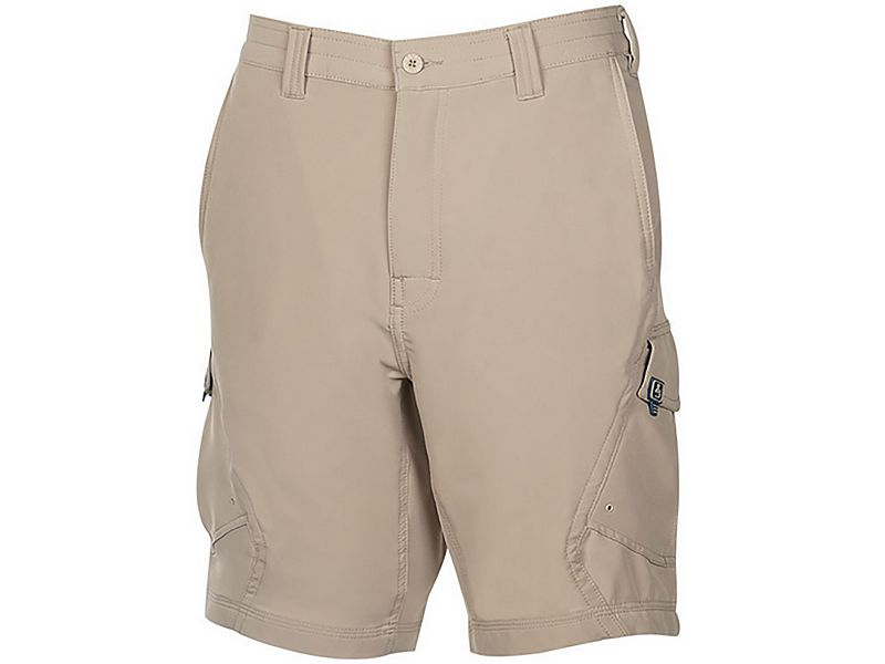 Hook & Tackle Shoreline 4-Way Stretch Cargo Shorts
