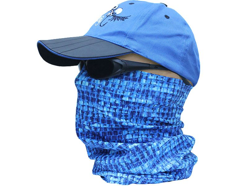 Hook & Tackle Blue Snake Head Honcho Sun Fishing Gaiter