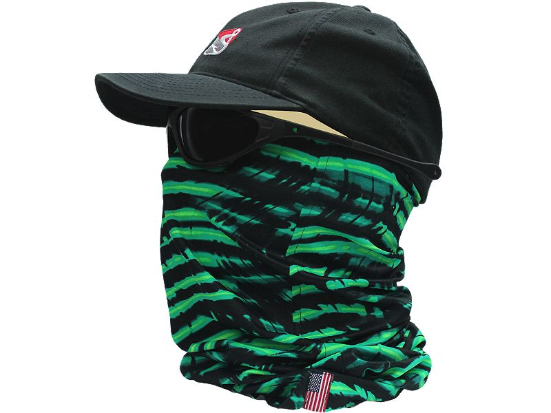 Hook & Tackle Hot Algae Head Honcho Sun Fishing Gaiter