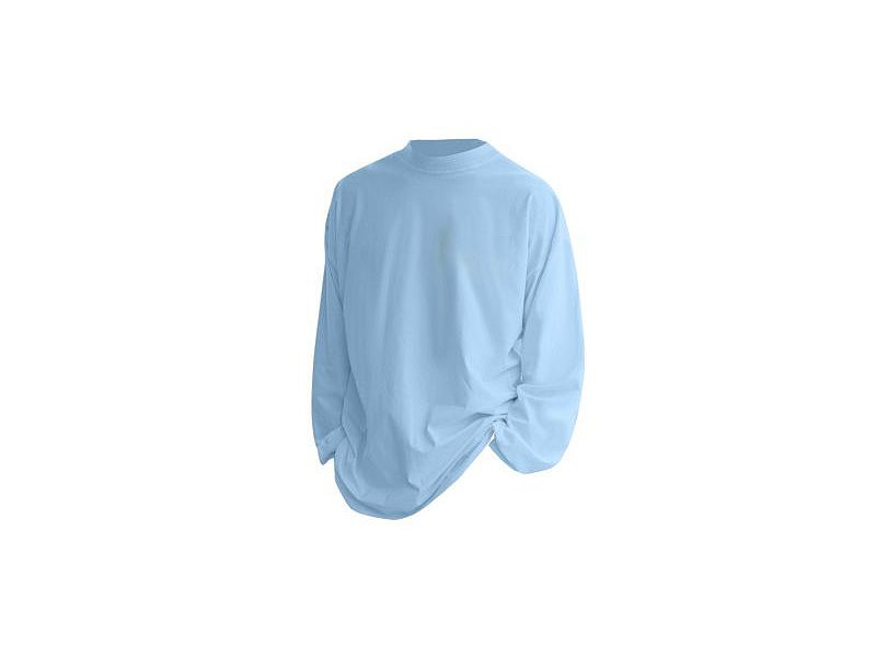 Hook & Tackle Sun Blocker Performance Long Sleeve Shirt - Sky Blue - XXL