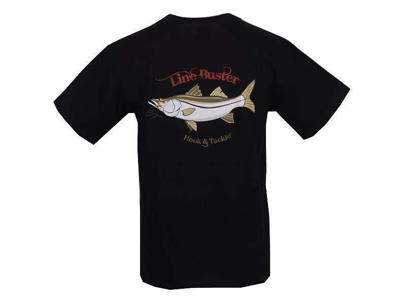 Hook & Tackle Snook Line Buster T-Shirt