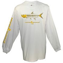 Hook & Tackle Tarpon X-Ray Solar System Long Sleeve Shirt