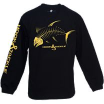 Hook & Tackle Yellowfin Tuna X-Ray Solar System Long Sleeve Shirt