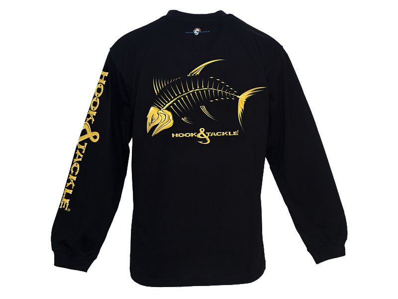 Hook & Tackle Yellowfin Tuna X-Ray Solar System L/S Shirt