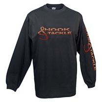 Hook & Tackle Fish Logo Solar System Long Sleeve Shirt