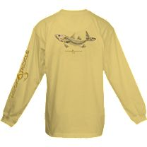 Hook & Tackle Snook X-Ray Solar System Long Sleeve Shirt