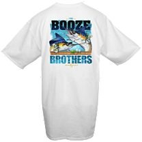 Hook & Tackle Booze Brothers T-Shirt