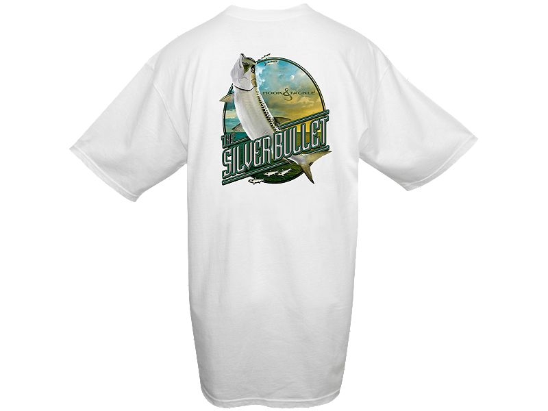 Hook & Tackle Silver Bullet T-Shirt