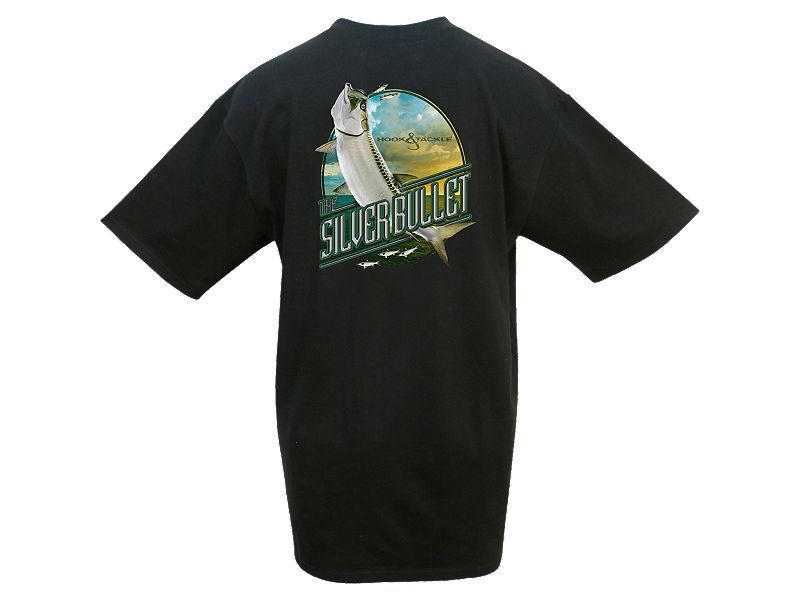 Hook & Tackle Silver Bullet T-Shirt