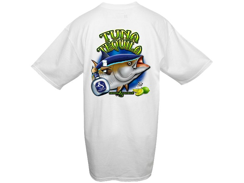 Hook & Tackle Tuna Tequila T-Shirt