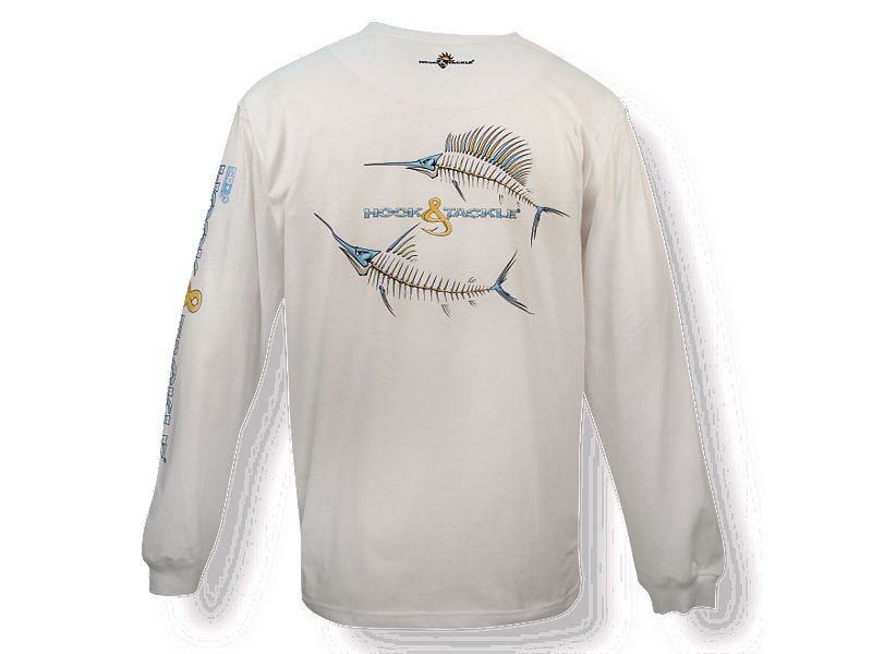 Hook & Tackle Marlin & Sailfish X-Ray Solar System Long Sleeve Shirt