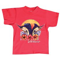 Lil' Bit Sporty Girls Sunset T-Shirt