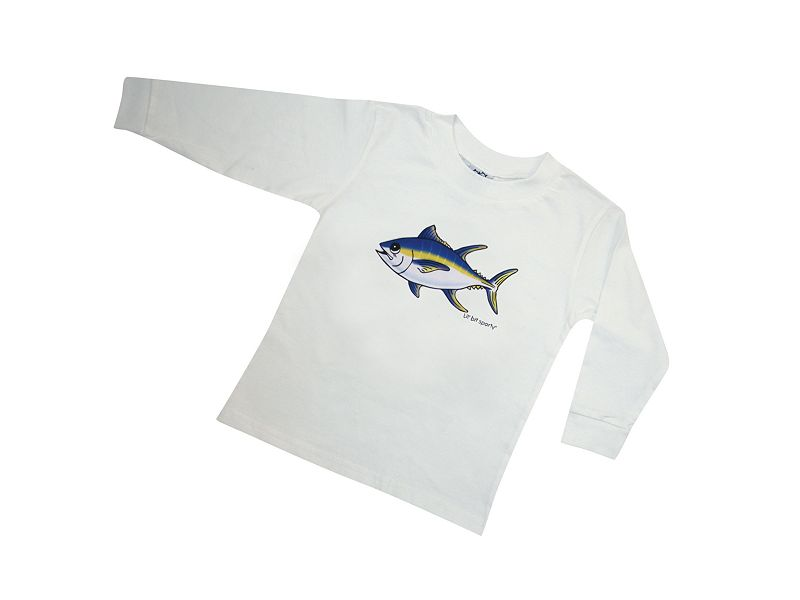 Lil' Bit Sporty Tuna Long Sleeve Shirt