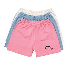 Lil' Bit Sporty Wahoo Shorts
