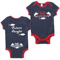 "Melton ""Future Angler"" Babies Onesie"