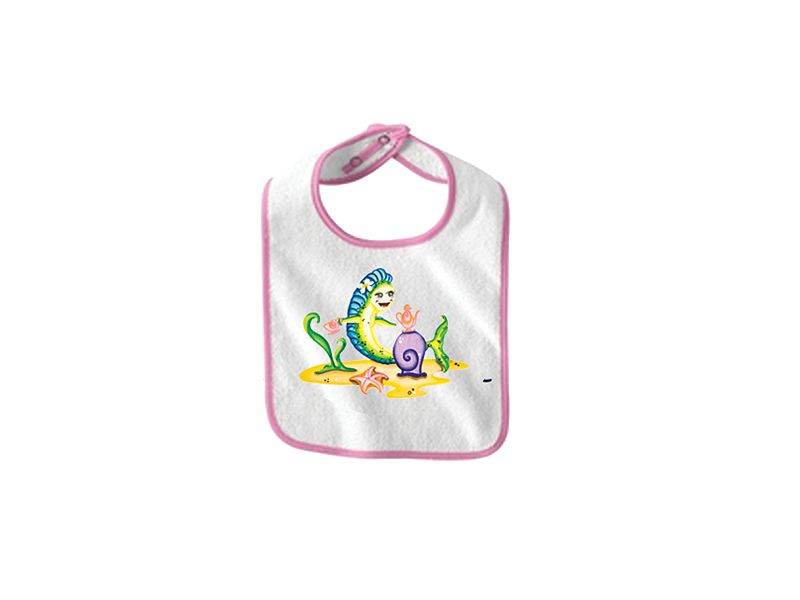 Saltwater Sandbox Tea Party Dorado Girl's Bib