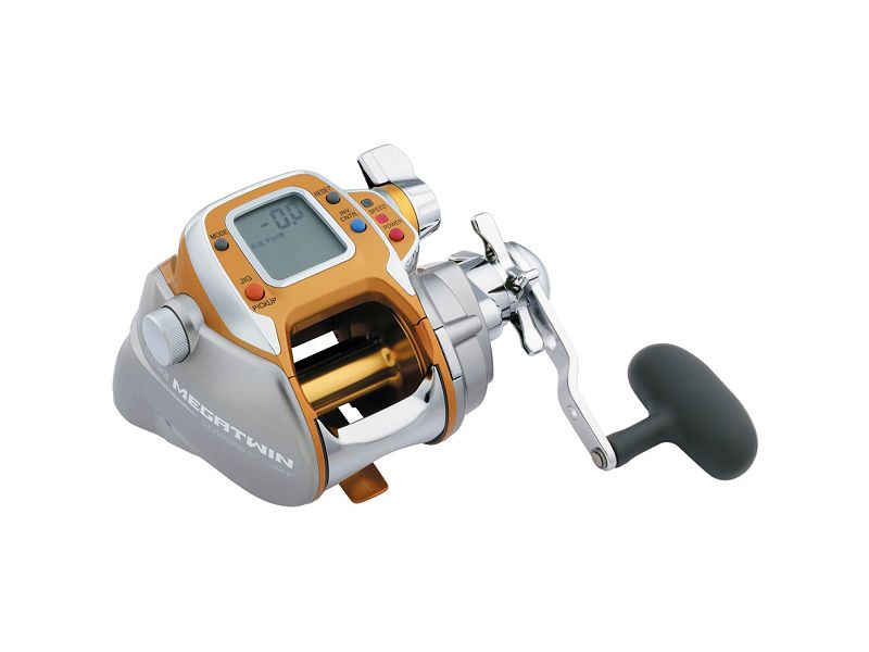 Daiwa Seaborg Megatwin Power Assist Reels