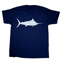 Melton Tackle Marlin Capture Flag T-Shirt