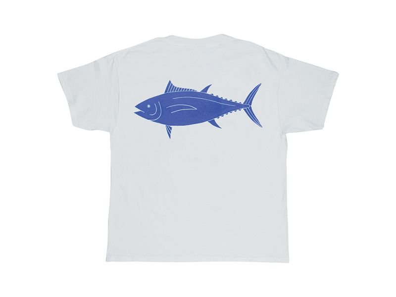 Melton Tackle Tuna Capture Flag T-Shirt
