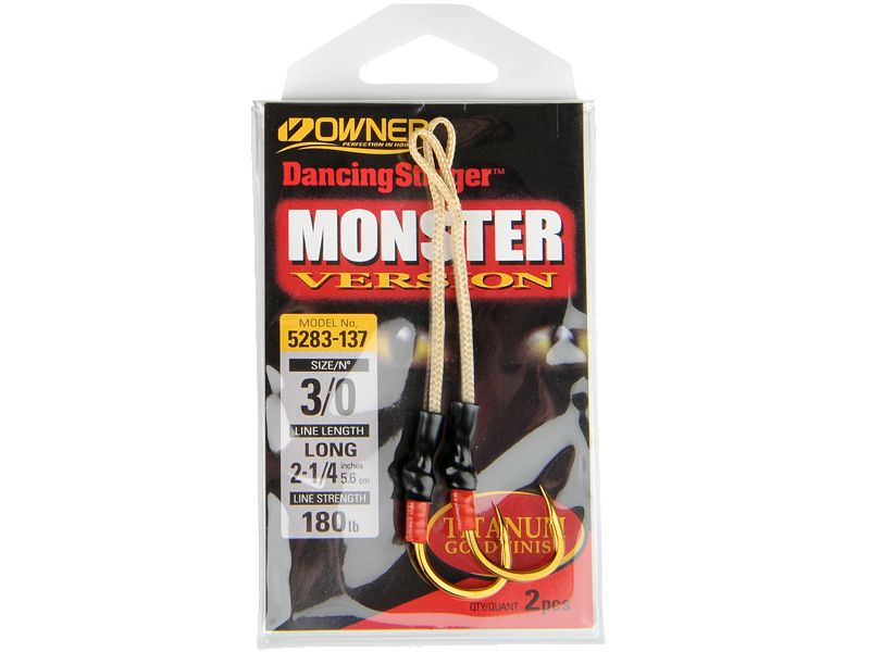 Owner Dancing Stinger Monster Hooks