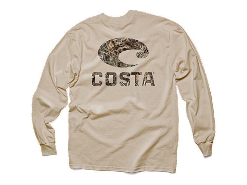 Costa RealTree Max-4 Camo Long Sleeve Shirt