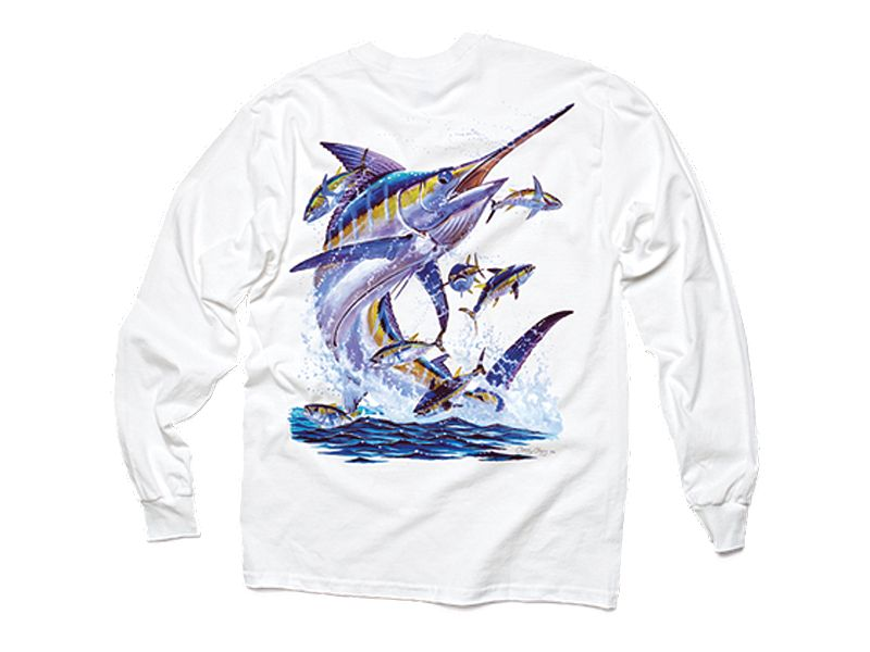 Costa Del Mar Carey Chen Marlin Long Sleeve Shirt