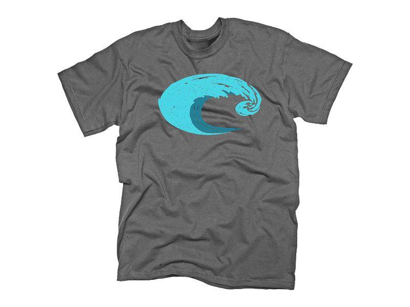 Costa Del Mar Logo Wave T-Shirt