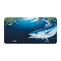 Reel Fish License Plates