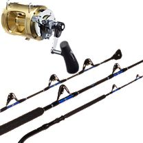 Melton Tackle Charter Rod/Shimano Tiagra Combos