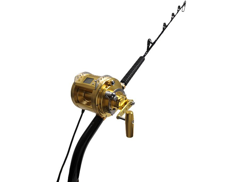 Daiwa MP3000 w/Melton Tackle 80 Deep Drop Rod