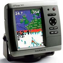 El Garmin GPSMAP 545 Chartplotter