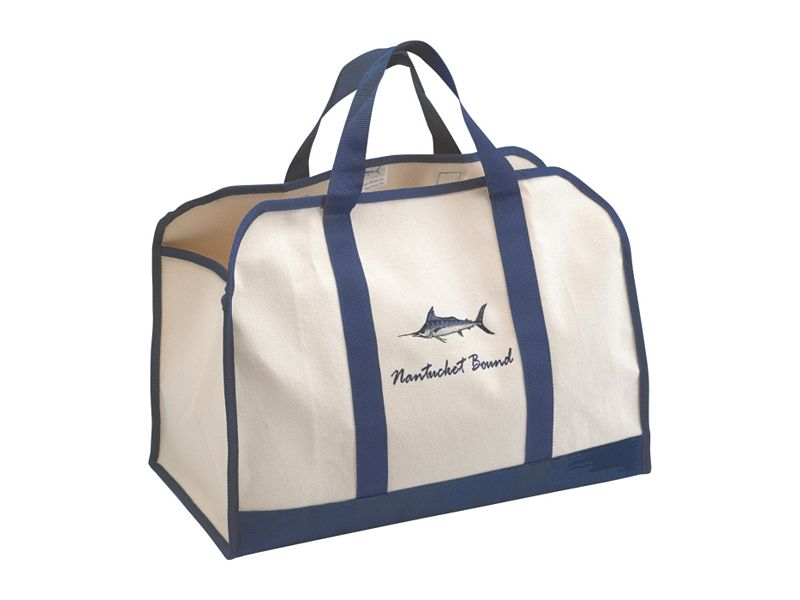 Nantucket Bound Custom Embroidered Harbor Tote