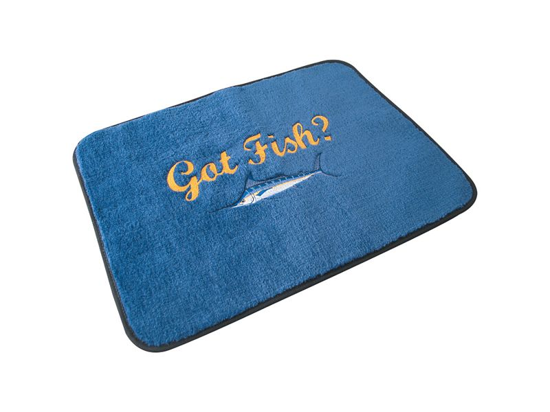 Nantucket Bound Custom Embroidered Carpet Mat