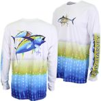Guy Harvey BF Tuna Pro UVX Long Sleeve Shirt