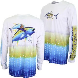 Guy Harvey BF Tuna Pro UVX Long Sleeve Shirt
