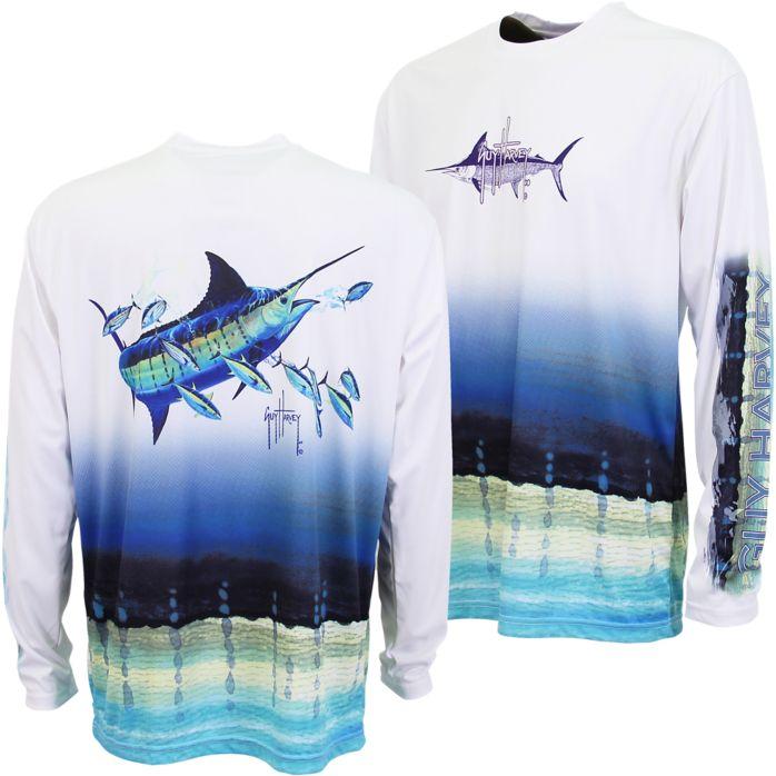 Guy Harvey Marlin Pro UVX Long Sleeve Shirt