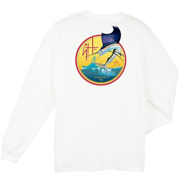 Guy Harvey Flyer Long Sleeve Shirt