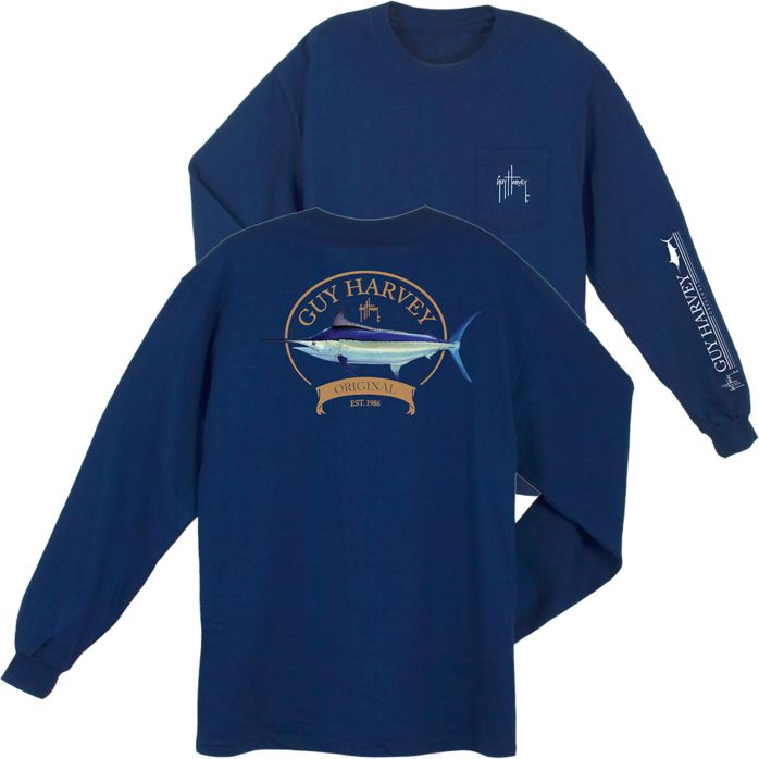 Guy Harvey Members Only Long Sleeve Shirt