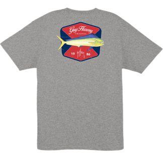 Guy Harvey Leader Pocketed T-Shirt
