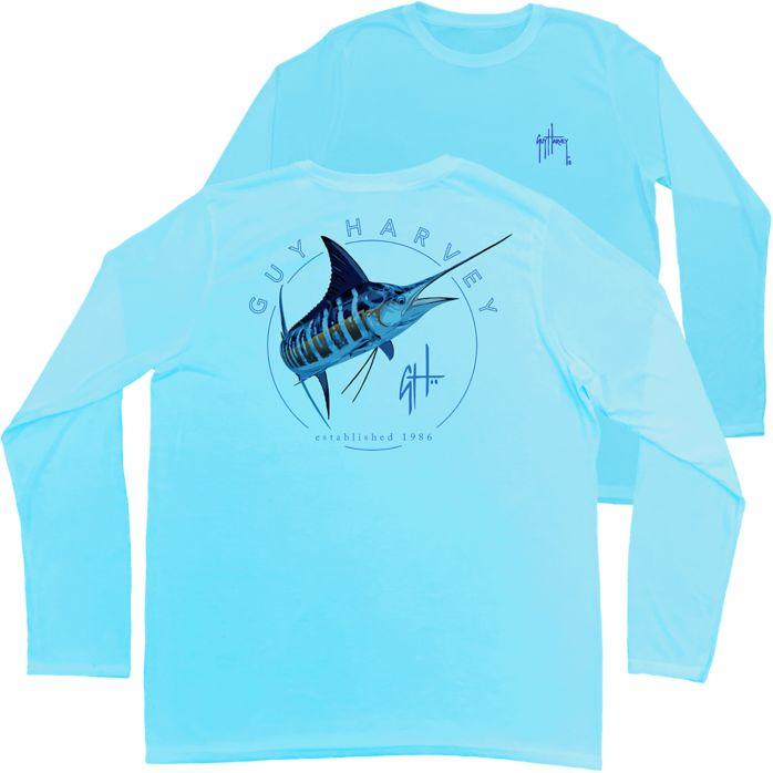 Guy Harvey Switchblade Performance Long Sleeve Shirt