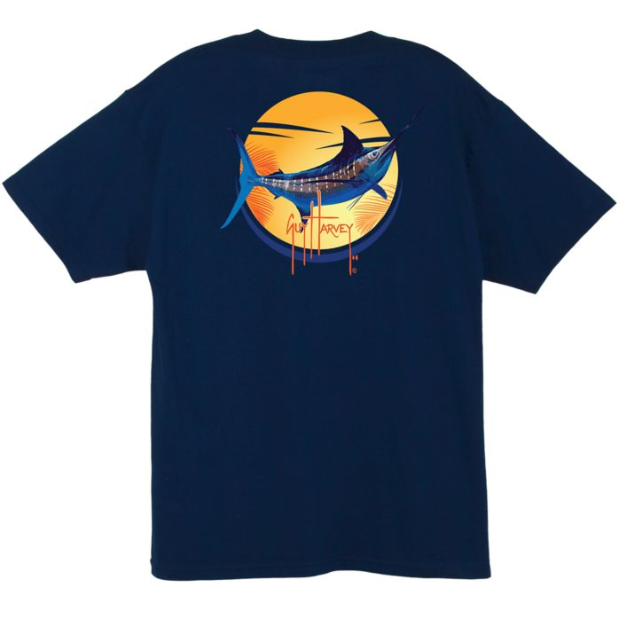 Guy Harvey Sunny Days Pocketed T-Shirt