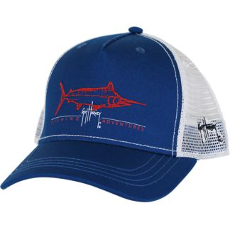 Guy Harvey Tight Line Trucker Hat