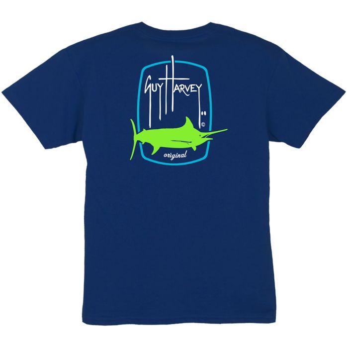 Guy Harvey Barrel Logo Youth T-Shirt