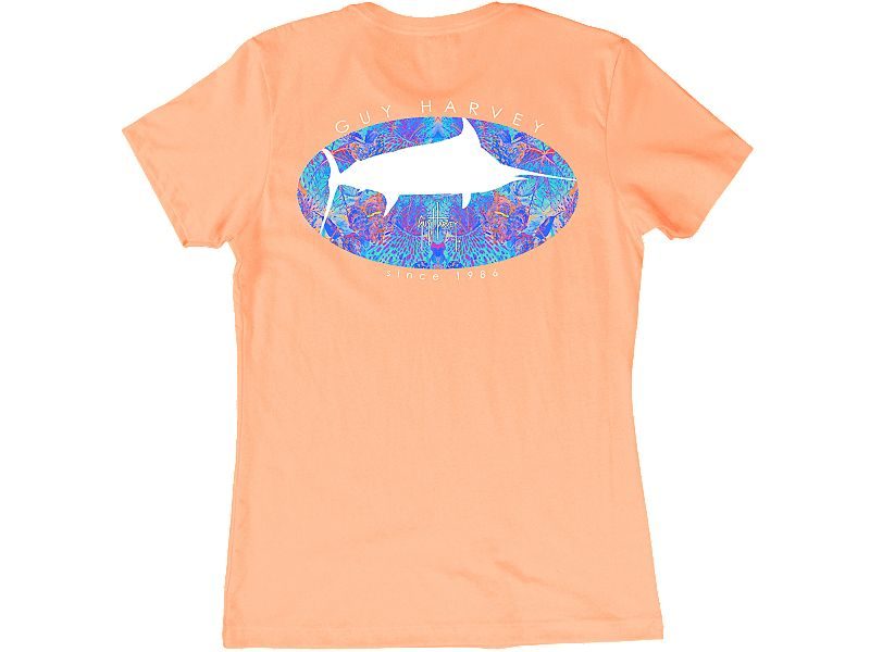 Guy Harvey Marlin Paradise Women's T-Shirt