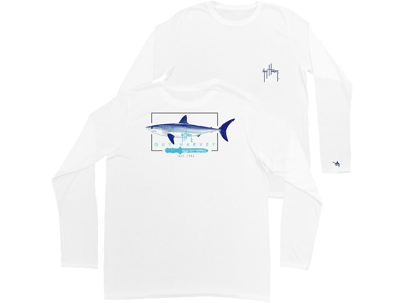 Guy Harvey Blades Pro UVX Performance Youth Long Sleeve Shirt